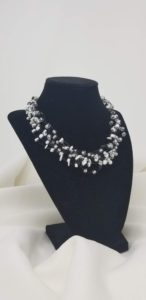 5-strand knotted necklace