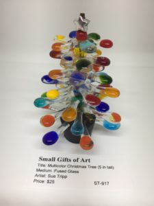 Multicolor Christmas Tree (5 in tall)