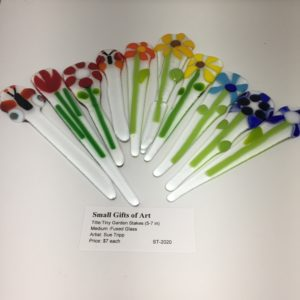 Tiny Garden Stakes (5-7 in)