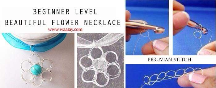 Beautiful Flower Necklace Workshop